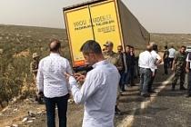 Midyat'ta trafik kazası: 2 ölü 11 kişi yaralandı
