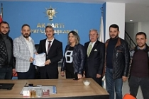 Abdürrahim Kaplan, AK Parti'den Belediye Başkanı Aday Adayı oldu