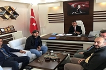 UDEF' ten Milli Eğitim Müdürü Altay'a Ziyaret