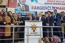 AK Parti'nin Büyükşehir adayı Vejdi Kahraman'a coşkulu karşılama