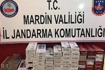 Artuklu'da kaçak sigara operasyonu