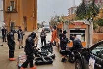 Kızıltepe'de Kbrn Tatbikatı gerçekleşti