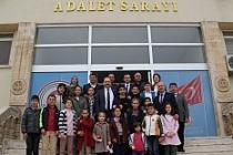 Öğrencilerden Başsavcısı Akkiraz'a, teşekkür ziyareti