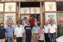AK Parti İl Başkanı Kılıç'tan Savur'a ziyaret