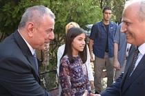 Ulaştırma ve Altyapı Bakanı Mehmet Cahit Turhan Midyat'ta