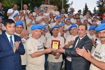 Komandolar, 35 yıl önce görev yaptıkları Midyat'ta buluştu