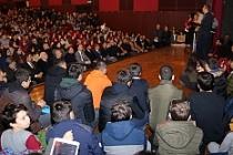 Öğrenciler Bilim Konferansına yoğun ilgi gösterdi
