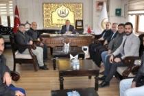 Tekstilciler Başkan Şahin'i Ziyaret Etti
