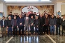 AK Parti İl Başkanı Kılıç, gazetecilerle bir araya geldi