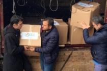 Dicle Elektrik'ten depremden etkilenen vatandaşlara gıda desteği