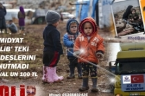 Midyat'tan İdlib'e yardım eli
