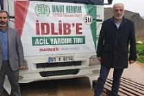 Mardin STK Platformu'nun Son Yardımları da İdlib'e Ulaştırıldı