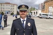 10 Nisan Polis Haftası dolayısıyla Atatürk Anıtı'na çelenk sunuldu