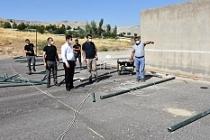 Dargeçit Belediyesi Spor Saha Çalışmalarına Başladı