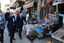 Vali Mahmut Demirtaş, Midyat'ta İncelemelerde Bulundu