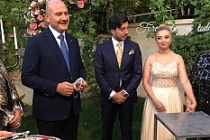 Bakan Soylu, Miroğlu ve Özdemir Ailelerinin Nişan törenine katıldı