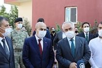 Bakan yardımcısı Ersoy'dan, şehit mühendis Gözenoğlu'na taziye ziyaretinde bulundu