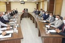 Vali Demirtaş, Daire Başkanları ile Bir Araya Geldi
