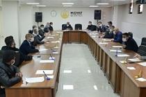 Birim müdürlerine korona toplantısı