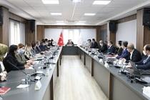 Mardin'de Kadına Yönelik Şiddetle Mücadele Toplantısı gerçekleşti