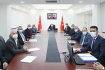 Vali Demirtaş Başkanlığında Toprak Koruma Kurulu Toplantısı Gerçekleşti
