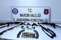 Mardin'de silahlar ele geçirildi