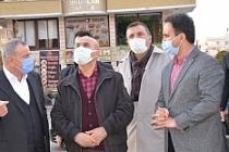 Mardin Valisi Demirtaş, Midyat'ta incelmelerde bulundu