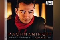 Piyanist Emre Yavuz'un ilk albümü 'Rachmaninoff' çıktı