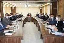 Vali Demirtaş, Belediye Başkanları İle Bir Araya Geldi