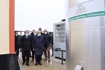 Vali Demirtaş, Mardin Biogaz Santralinde incelemelerde bulundu