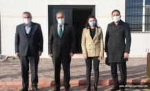 DEDAŞ İl Müdürü Homan, Başkan Şahin'i ziyaret etti