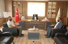 Mardin Arıcılar Birliğinden Başkan Şahin'e Ziyaret