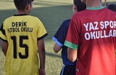 Derik'te Futbol Kursu
