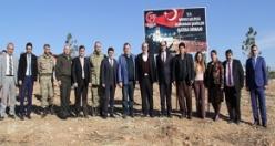 Midyat Adliyesi Demokrasi Şehitler Hatıra Ormanı oluşturdu