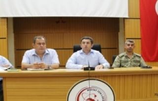 Okul Güvenliği Toplantısı Yapıldı