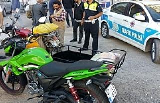 """Midyat'ta motosiklet sürücülerine """"Son Sürat""""..."""
