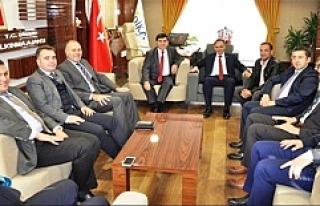 GAP Başkanı ile Kaymakamlar DİKA'yı Ziyaret...