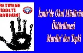 İzmir'de Okul Müdürünün Öldürülmesi Mardin'...