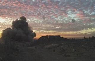 Nusaybin'de el yapımı patlayıcı ve mühimmat...