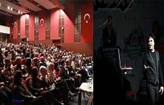 Ünlü komedyen 'Yavuz Seçkin' Mardin'de