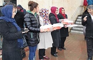 Midyat'ta Afrin Şehitleri İçin Mevlit Okutuldu