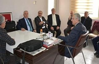 AK Parti İl Başkanı Eri Gazetecilerle Bir Araya...