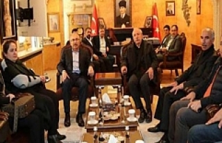 Miroğlu'ndan Vali Yaman'a Ziyaret