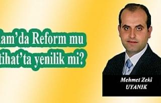 İslam'da Reform mu İçtihat'ta yenilik mi?