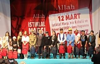 İstiklal Marşı'nın Kabulünün 97. Yılı