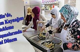 Mardin'de, Geçim Kaynağını Destekleme Çalışmalarında...