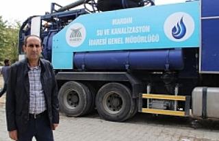 Midyat'ta Yeni Kombine Kanal Açma Aracı Hizmete...