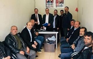 Oğuzhan Kaya, Savur Belediye Başkanlığı için...