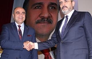 Ömerli Belediye Başkan adayı Hüsamettin Aldındağ...