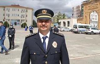 10 Nisan Polis Haftası dolayısıyla Atatürk Anıtı'na...